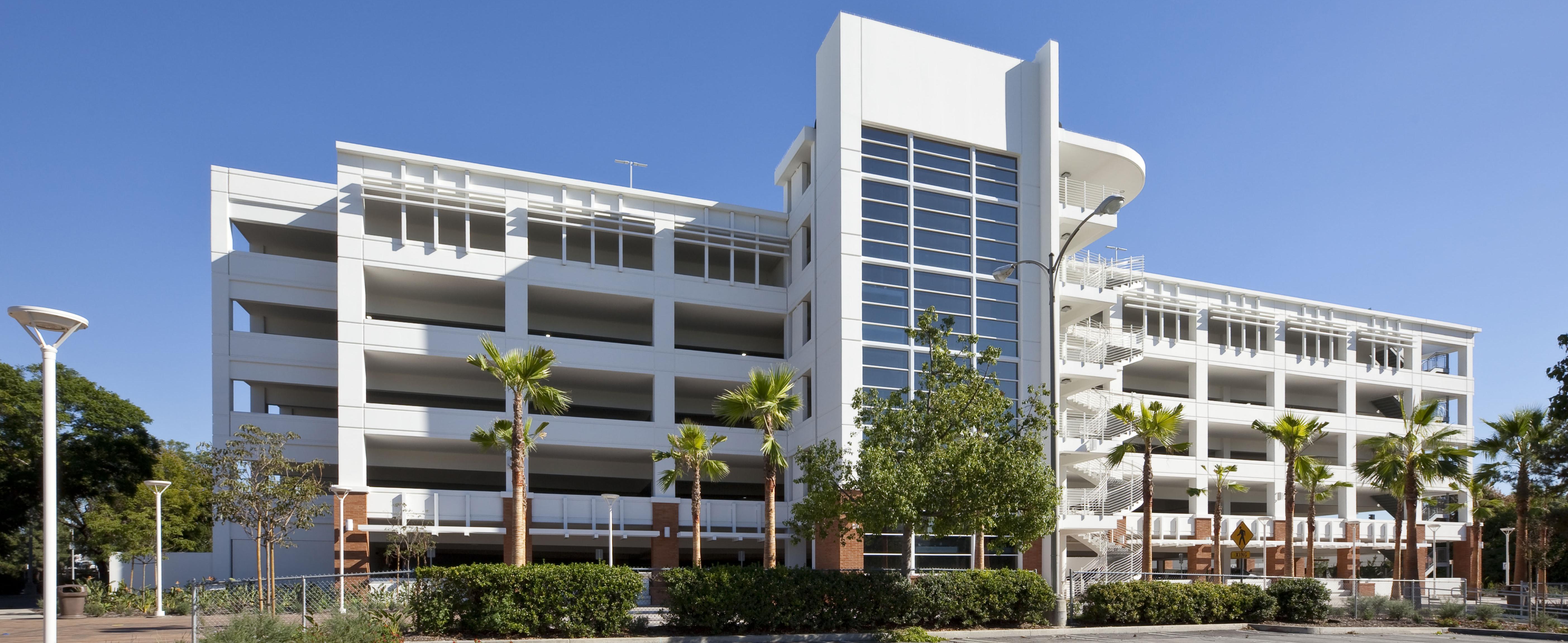 CSU Fullerton Parking Structure #4