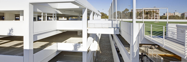 UCSD East Campus Health Sciences Parking Complex - IPD : IPD
