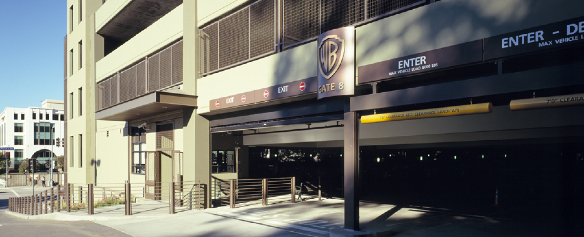 Warner Bros. Forest Lawn Parking Structure