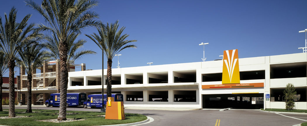 Valley View Casino Parking Structure