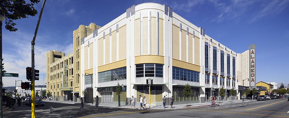 Civic Center Garage: Alameda Civic Center Parking Garage