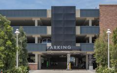Chapman Univ Parking Structure-3