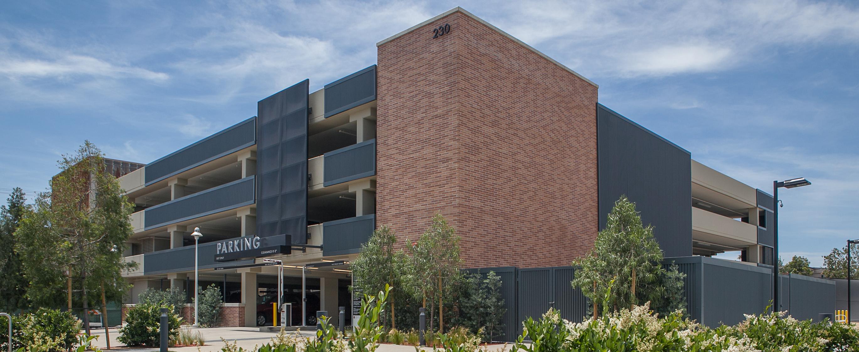 Chapman University - Filmmaker's Parking Structure