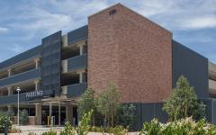 Chapman Univ Parking Structure-43