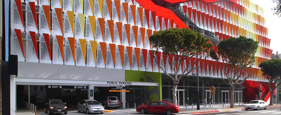 City of Santa Monica Parking Structure #6