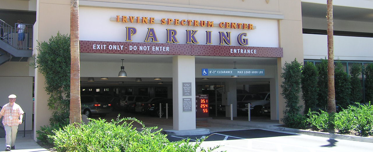 Irvine Spectrum North Amp West Parking Structures Ipd Ipd
