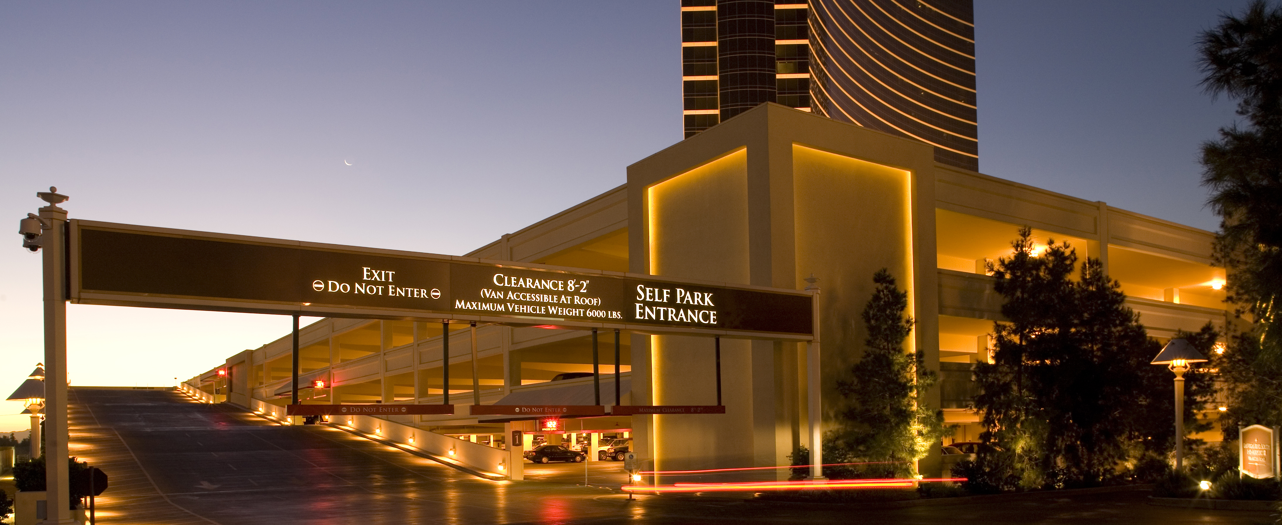 Wynn Casino Le Réve Parking Structure