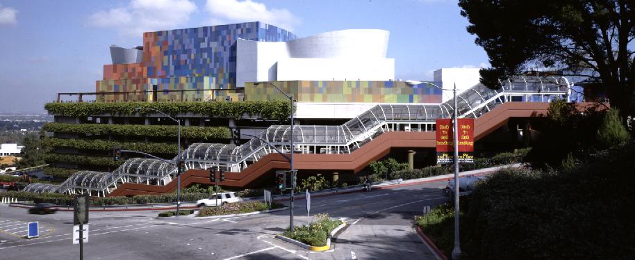 NBCUniversal Frankenstein Parking Structure