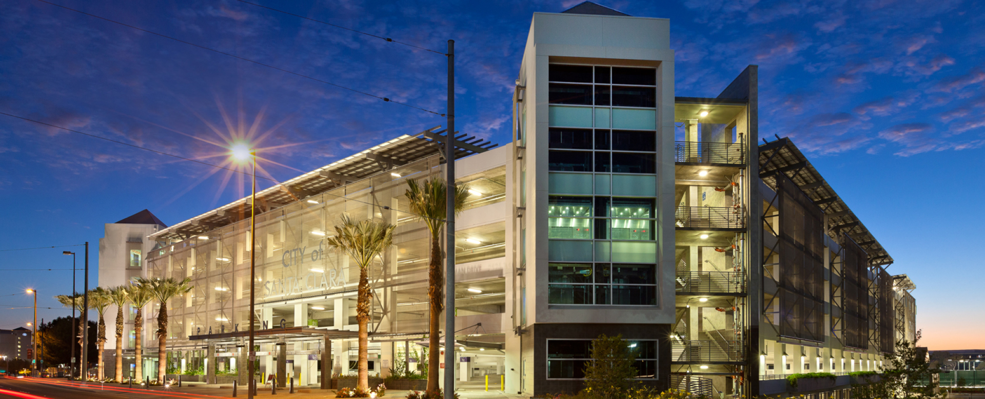 City of Santa Clara - Tasman Drive Parking Structure