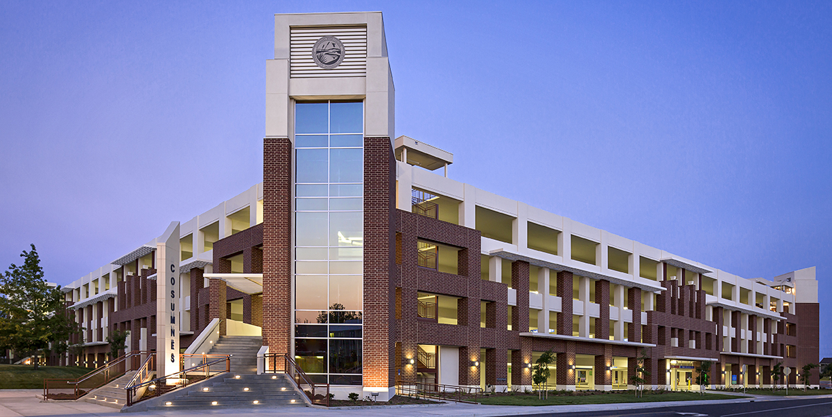 Cosumnes River College Parking Structure Ipd Ipd