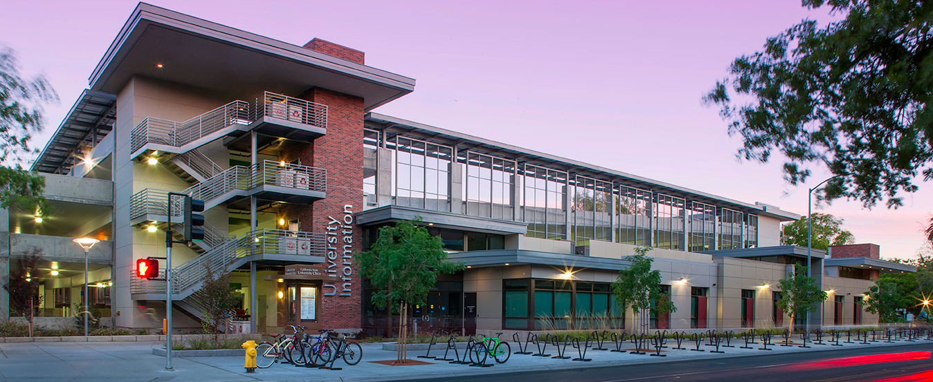 CSU Chico - Normal Avenue Parking Structure