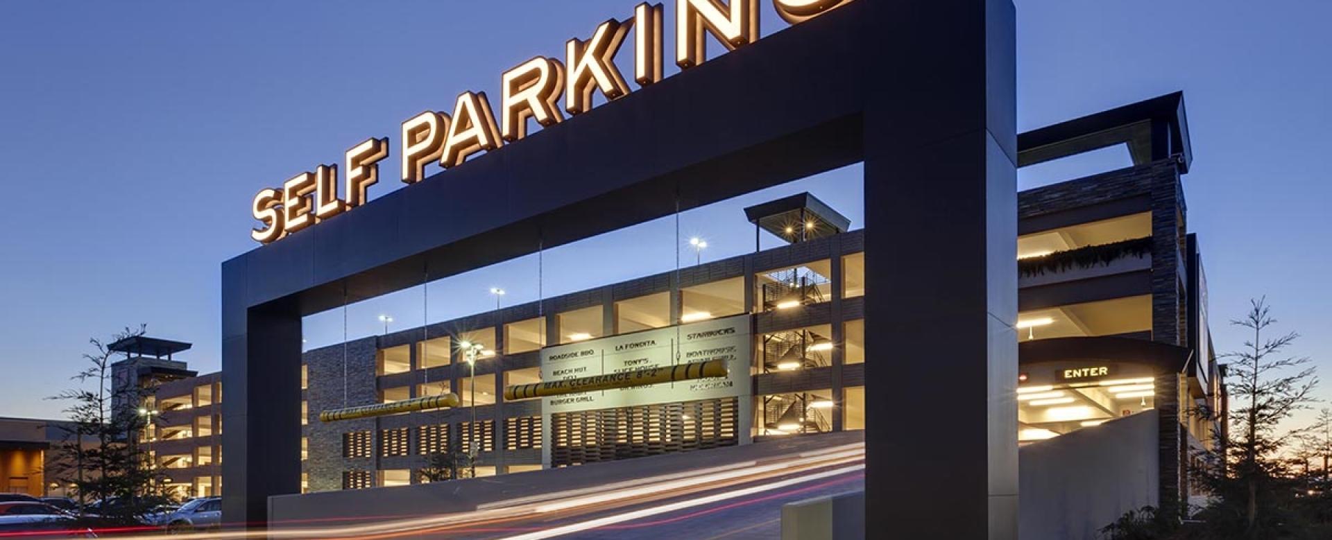 Graton Resort & Casino Parking Structure