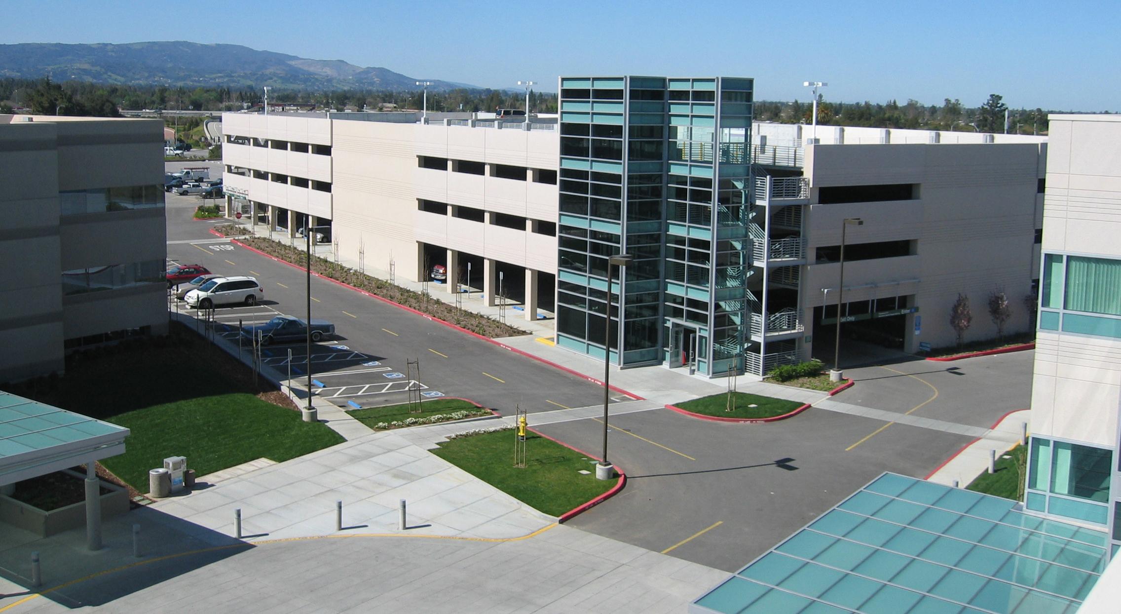 Samaritan Medical Center Parking Structure