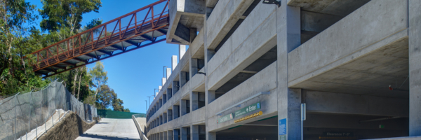 San Diego Zoo Employee Parking Structure - IPD : IPD