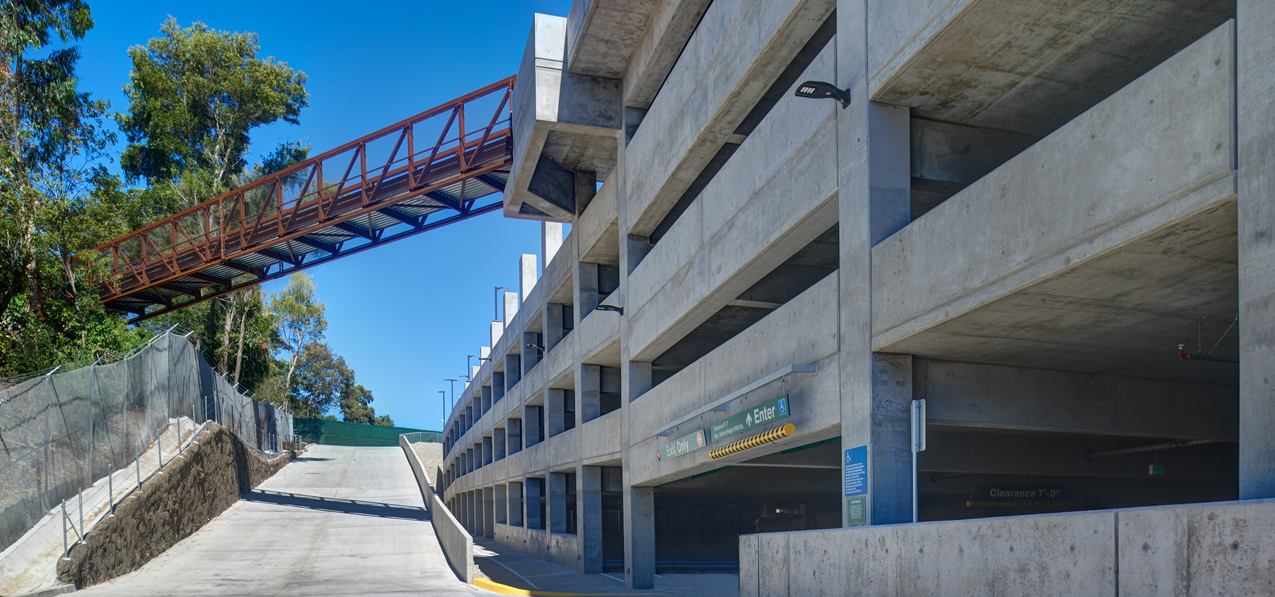 San Diego Zoo Employee Parking Structure