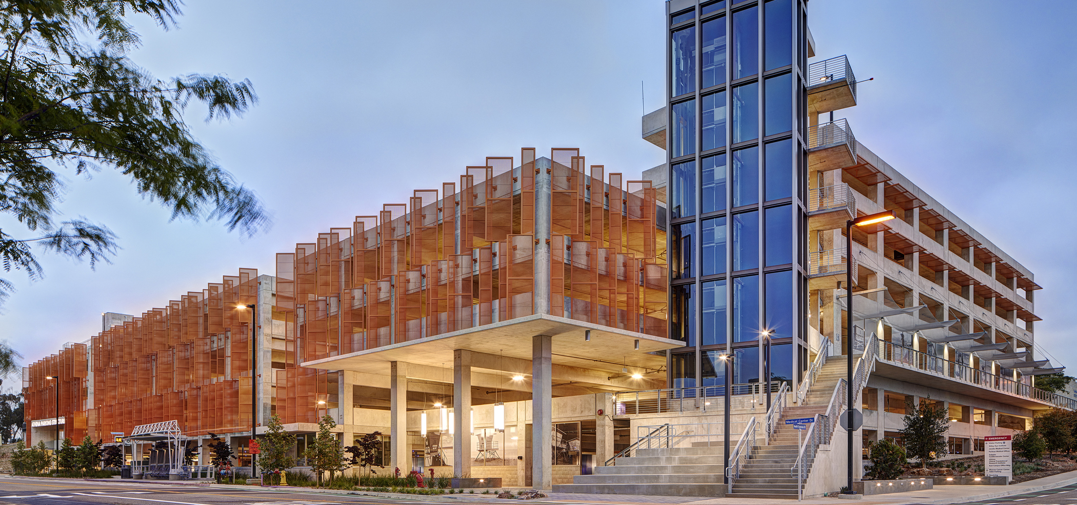 UC San Diego Athena Parking Structure