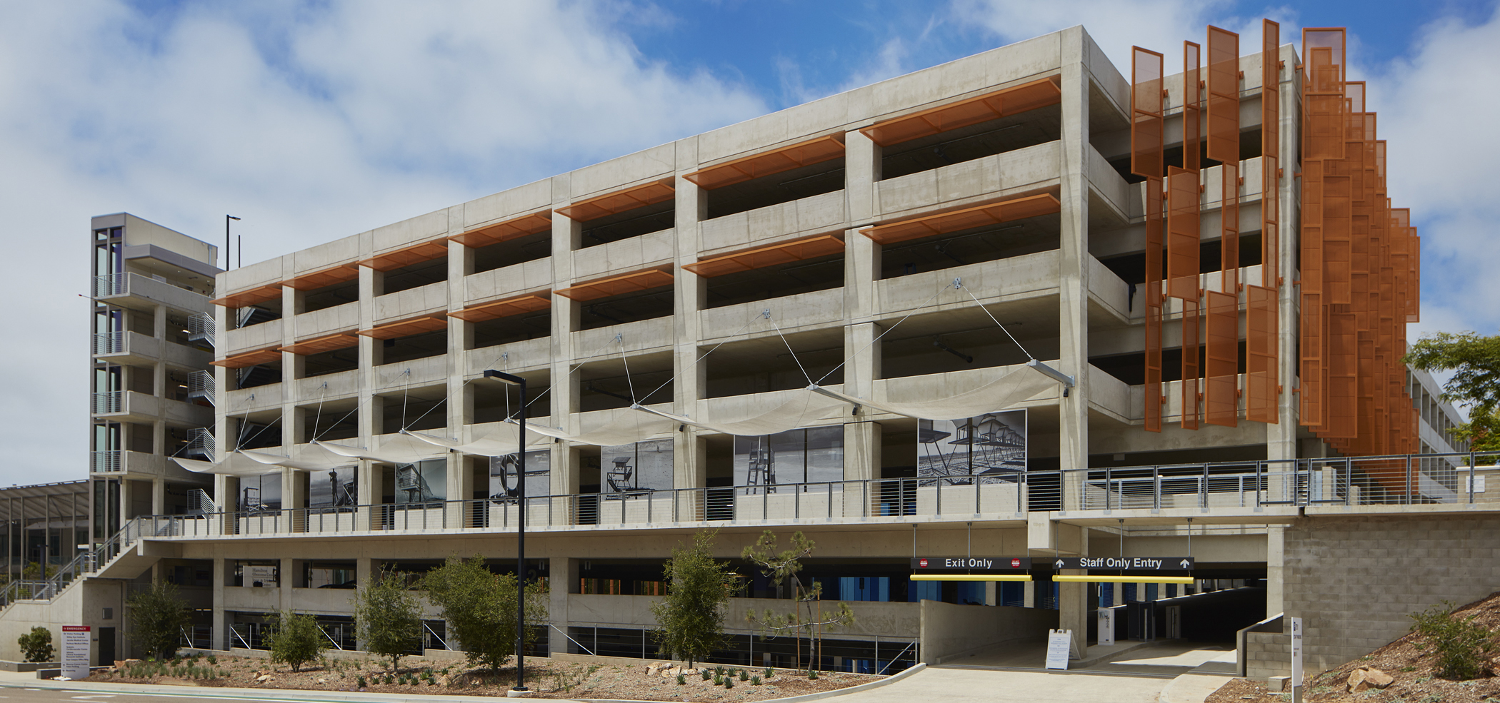Uc San Diego Athena Parking Structure Ipd Ipd