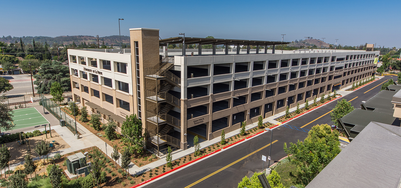 University of La Verne Parking Structure