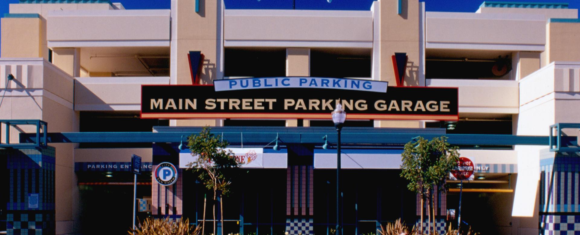 Main Street Parking Structure