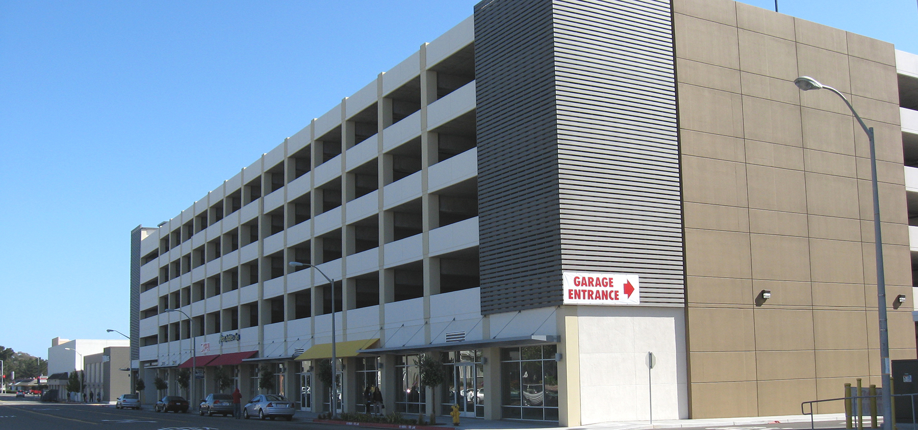Westlake Shopping Center Lake Merced Parking Structure