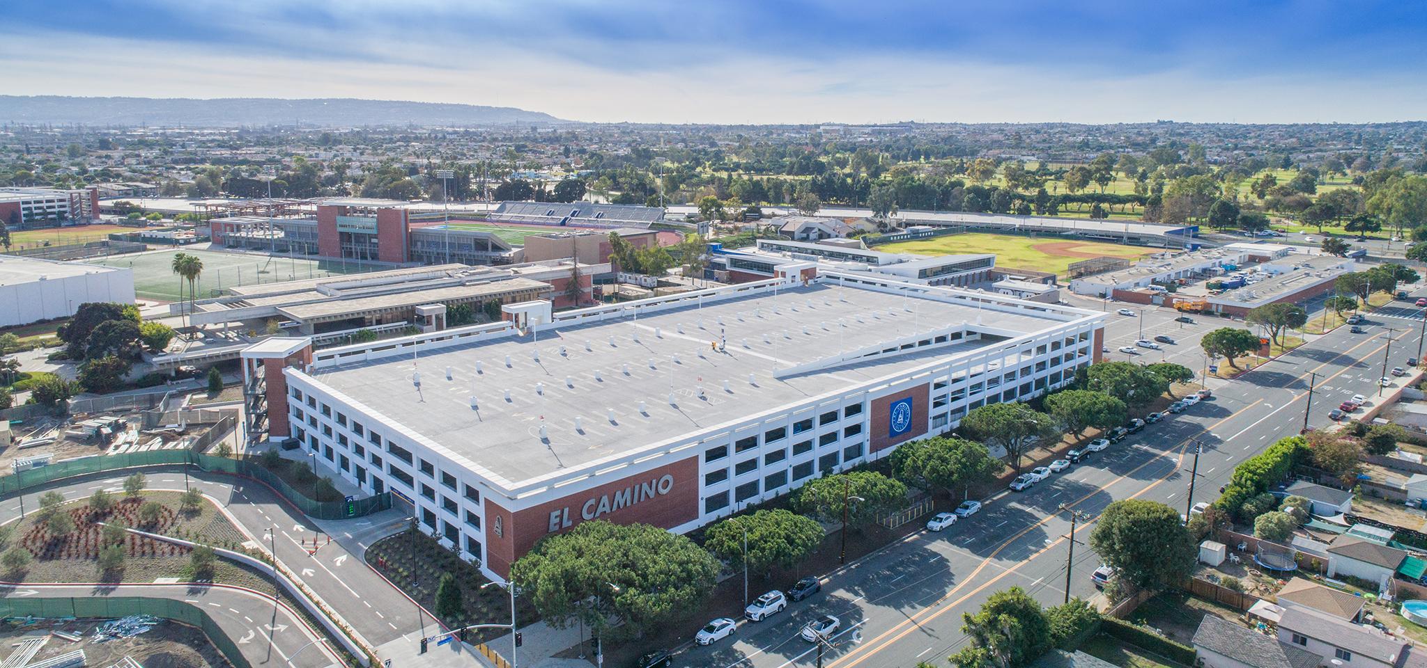 El Camino College Lot C Parking Structure