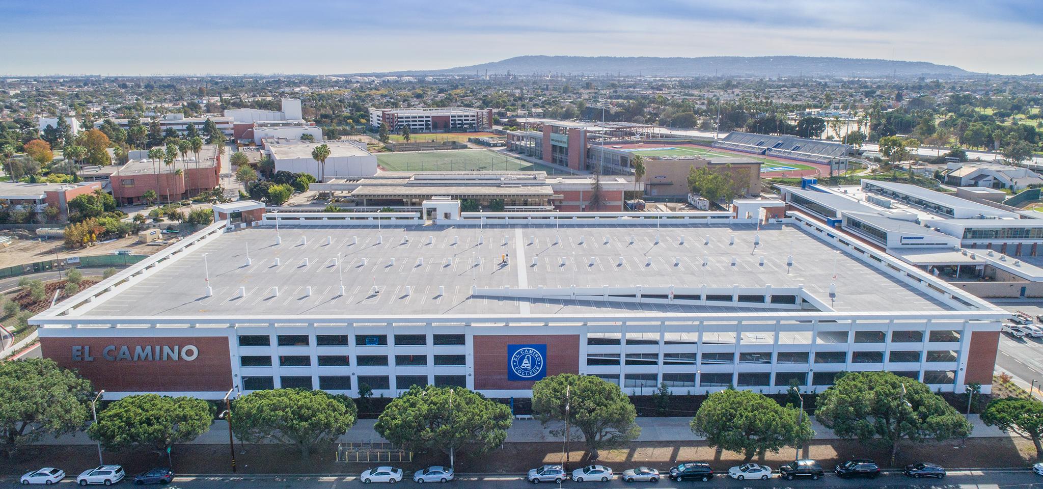 El Camino College >> El Camino College Lot C Parking Structure Ipd Ipd