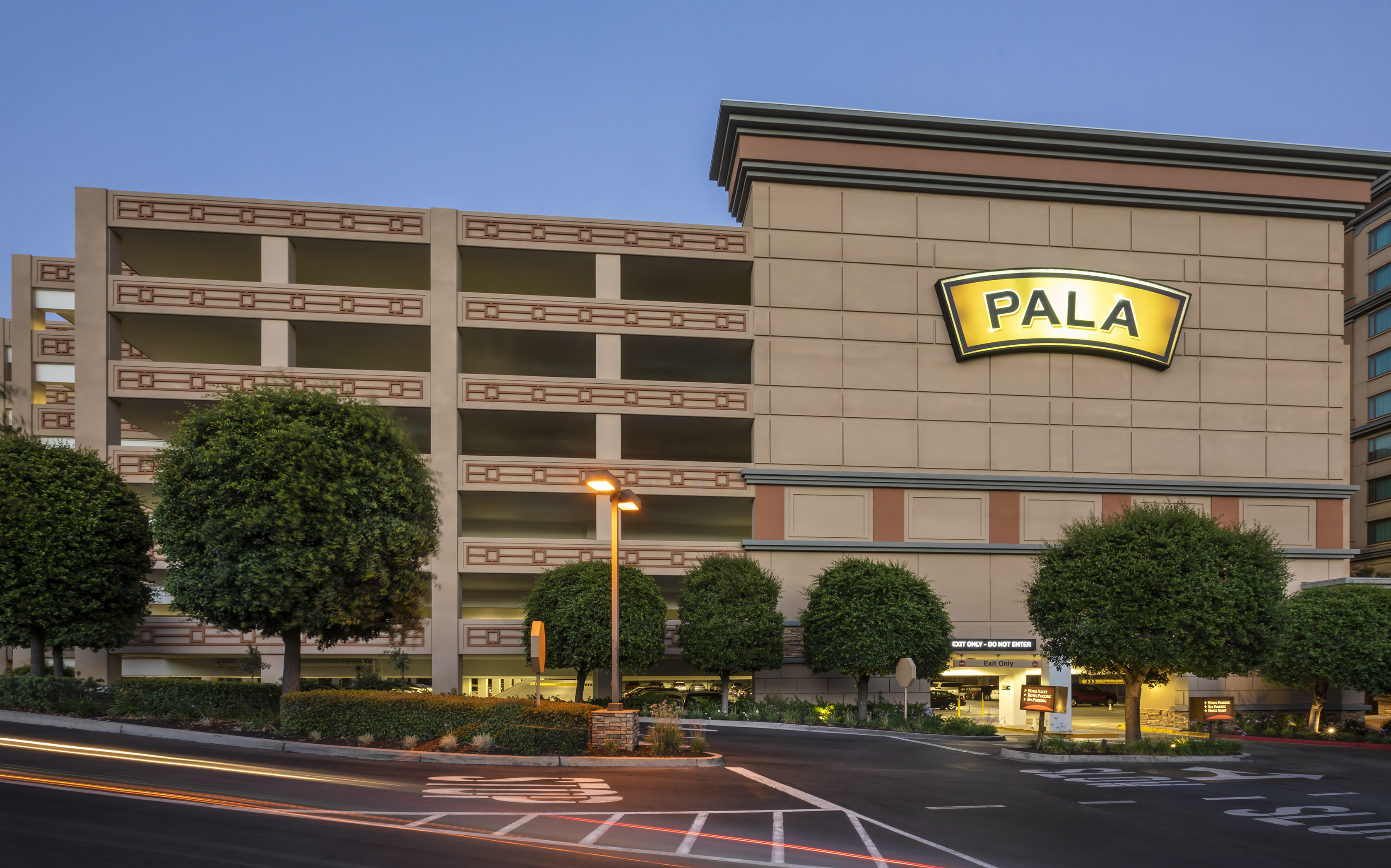 Pala Casino Spa Resort Parking Structure & Expansion